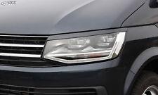 RDX Scheinwerferblenden VW T6 Böser Blick Blenden Tuning Zubehör Light Eye Brows