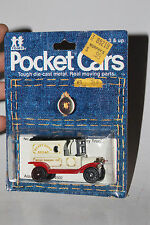 TOMY TOMICA POCKET CARS #134-F13 1915 FORD MODEL T DELIVERY, HAPPY HOME BREAD #3