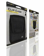 NITE IZE NYLON VERTICAL BLACK CLIP CASE CARGO POUCH WITH CLOSURE X-TALL