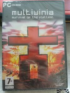 Multiwinia Survival Of The Flattest Pc CD Rom New Sealed DVD