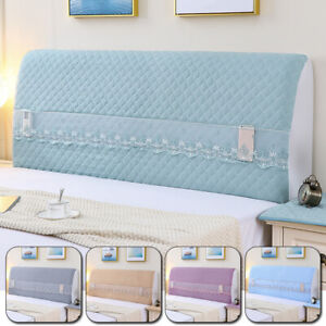 Lace Headboard Slipcover Elastic Protector Cover Dustproof Covers