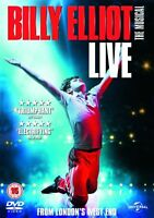 BILLY ELLIOT LIVE THE MUSICAL VICTORIA PALACE LONDON UNIVERSAL UK 2014 DVD NEW