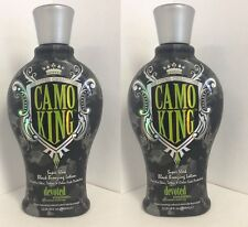 2 Camo King Black Bronzer Tattoo Protection Tanning Lotion Devoted Creations