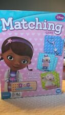 NEW DISNEY DOC MCSTUFFINS MATCHING GAME - FUN GAME OF PICTURE MATCHING