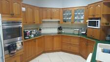 Kitchen second hand, large, includes cabinetry and Tasmania Oak Doors