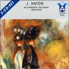 Haydn: Seasons; Stabat Mater [Germany] (CD, Aug-2001, Concerto Royale)