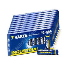 100x Micro AAA / LR3 - Batterie Alkaline, Varta Industrial 4003, 1,5V, 1200mAh,