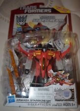 ARMADA STARSCREAM Transformers Generations Deluxe Figure Comic Pack 2014 New!