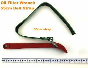 "11"" / 28cm Auto Oil Filter Wrench 55cm Belt Strap Spanner Steering Stem Nut"