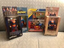 Lot of 4 Superman Figures DC Direct Kenner Hunter-Prey Doomsday