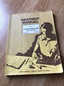 Heathkit Manual HF SSB Transceiver HW-5400 Manual Only