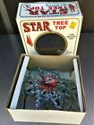 Vintage Kmart Christmas Tree Top Star Multicolor Tinsel Topper 10 Lights in Box