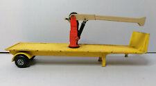 MATCHBOX diecast superkings #K33 Scammel tractor crane trailer only yellow