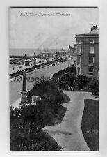 tp6631 - Sussex - The S.A.Memorial, Pier and Promenade at Worthing  - Postcard