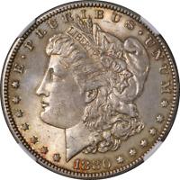 1880-P Morgan Silver Dollar NGC MS63 Nice Eye Appeal Nice Luster Nice Strike