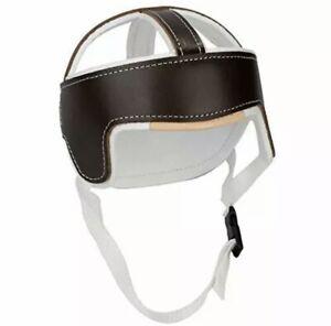 "Sammons Preston Protective Helmet, 24"", Leather Headpiece Protects the Head f..."