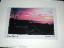 Cape Freycinet Photographic Art by Kylie Clarke Gould Mounted Card 39.5x29.5cm