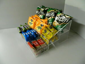 Counter Display Chocolate Bar, Crisps, Sweets, Condiment etc 3 Step  3 Sizes