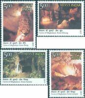 INDIA 2017 Caves of Meghalaya Nature Stamps set 4v MNH