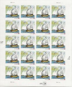 2006 39 cent Champlain full Sheet of 20, Scott #4073, Mint NH