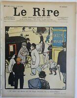 Felix Vallotton art Carriage Driver Street Scene Dog 1898 Le Rire Magazine #190