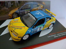 voiture 1/43 IXO altaya Rallye Champions Espagne  RENAULT Mégane Maxi Climent