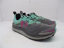Pearl Izumi Women's EM Trail N3 Trail Running Shoe Smoked Pearl/Aqua Mint 9.5M