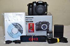Panasonic LUMIX DMC-GH3 16.0MP (Black) Body w/BOX_Low Click_ Excellent!!