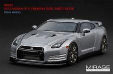 LIMITED EDITION LHD! HPI #8322 Nissan R35 GT-R PREMIUM Super Silver 1/43 Model