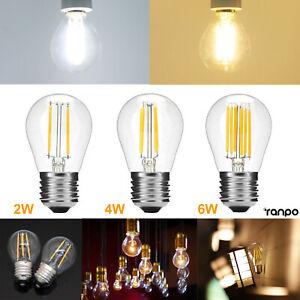 E27 Vintage LED Filament Ampoule Rétro Remplacer 20W 40W 60W Incandescent Lampe