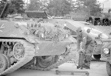 Panzer-HS 30-Schützenpanzer-Krankenkraftwagen-Tank-Bundeswehr-Grafenwöhr-1967