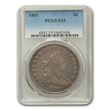 1801 Draped Bust Dollar Fine-15 PCGS - SKU#166456
