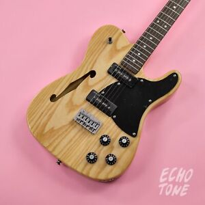 *NEW* Revelation RFT Thinline Telecaster Electric Guitar (Natural Finish)