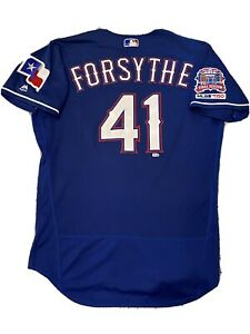 MLB Authenticated - Logan Forsythe Smashed A HOME RUN In This Game-Used Jersey!!