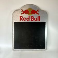 More details for red bull blackboard chalkboard with logo sign black board for darts man cave