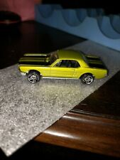 1983 Hot Wheels Ford Mustang Green Black Stripes  B19 chase wheels