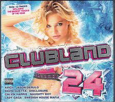 Clubland 24 - CD - (2CD) (Rhino/Universal 2013 U.K.)(Brand New Sealed)