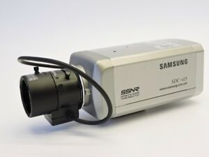 Samsung SDC-415 CCTV Color Day & Night Camera w/ 3.0-8mm Lens SDC-415NA