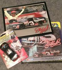Dale Earnhardt Mouse Pad, Key Chain and Photo