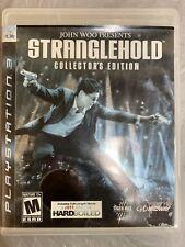 John Woo: Stranglehold - Collector's Edition PS3 NO DVD