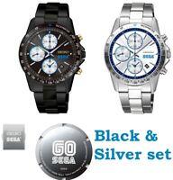 Pre SEGA Wristwatch SEGA 60th Anniversary Limited Model BLACK+SILVER 400pcs Only