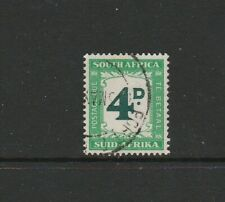 South Africa Postage dues, 1950/8 4d FU SG D42