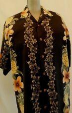 Tommy Bahama Men's 100% Silk Hawaiian Shirt Sz Medium Pineapple & Flower