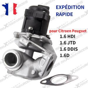 Vanne EGR pour PEUGEOT Citroen Jumpy 207 307 308 407 1.6 HDi 1618NR 161859