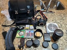 Canon EOS 5D Mark II with lens 24-105mm bag accessories: Flash, Memory Cards etc
