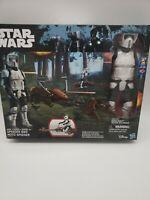 Star Wars SPEEDER BIKE MOTO SPEEDER BIKER SCOUT Action Figure 2-Pack Disney MIB
