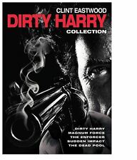 Dirty Harry Collection 5 Movies Clint Eastwood New Action Adventure Movie DVD