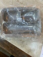 Vintage Wilton Armetale Pewter Divided Serving Tray Dish Rectangle Relish Col