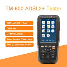 TM-600 ADSL ADSL2+ Tester ADSL WAN & LAN Tester xDSL Line Test with ALL function