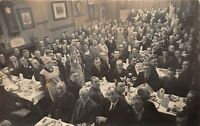 POSTCARD  HANTS - SOUTHAMPTON  - DINNER - GLADSTONE CLUB OR WOODWORKERS ?? RP